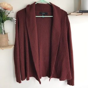 Open front cardigan!!
